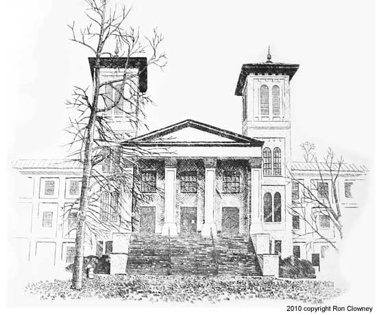 Old Main, Wofford College, Spartanburg SC