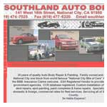 Southland Auto Body Website